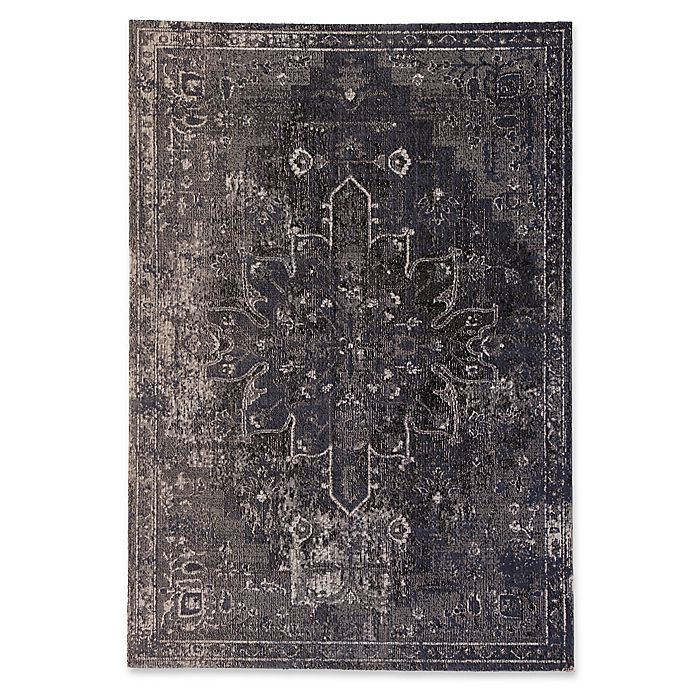 Alternate image 1 for Jaipur Living 8'10 x 12' Indoor/Outdoor Area Rug in Blue