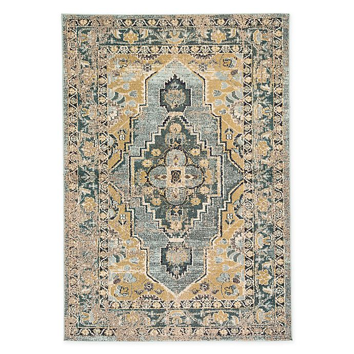 Alternate image 1 for Jaipur Living Jolyn 4' x 5'8 Area Rug in Blue