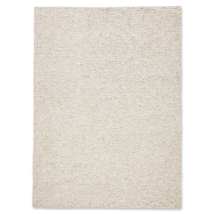 Alternate image 1 for Jaipur Solid 8'10 x 13' Area Rug in Ivory