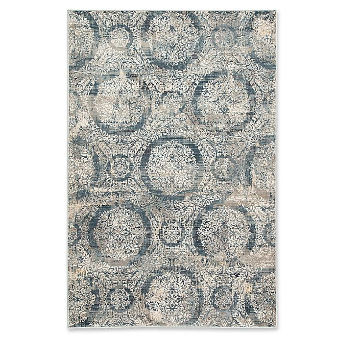 Alternate image 1 for Jaipur Living Paldino 8'10 x 12' Area Rug in Grey/Ivory