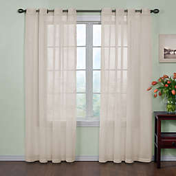 Arm and Hammer™ Curtain Fresh™ Odor Neutralizing 63-Inch Sheer Curtain Panel in Ivory