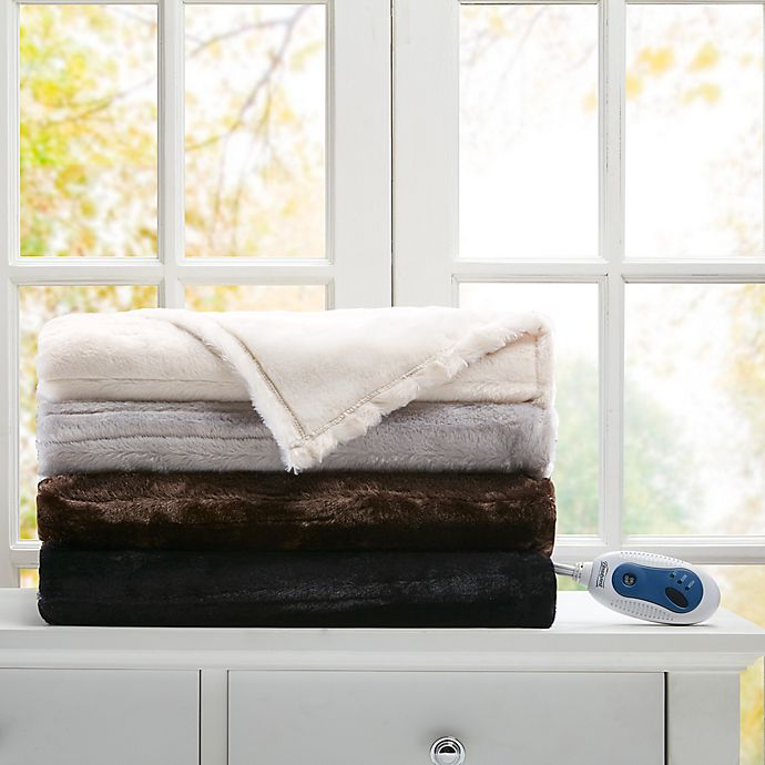 Alternate image 1 for Beautyrest® Heated Throw Blanket