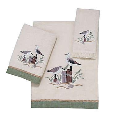Avanti Sea Birds Bath Towel Collection in Ivory