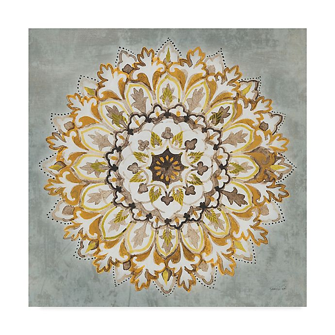 Alternate image 1 for Trademark Fine Art Mandala Delight II 24-Inch Square Canvas Wall Art