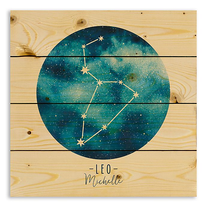 Alternate image 1 for Designs Direct Leo Zodiac Sign Pallet Wood Wall Art