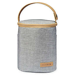JJ Cole® Insulated Bottle Cooler Bag in Heather Grey