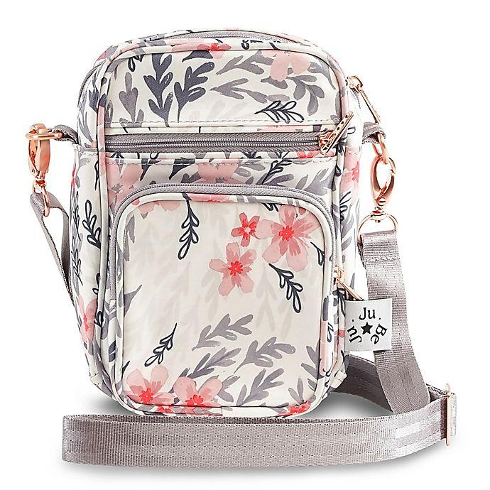 Alternate image 1 for Ju-Ju-Be® Mini Helix Messenger Diaper Bag in Pink