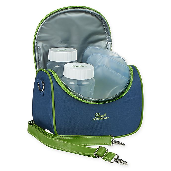 Alternate image 1 for Drive Medical Pure Expressions Insulated Cooler Bag  in Blue