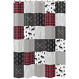 Sweet Jojo Designs Rustic Patch 72-Inch x 72-inch Shower Curtain