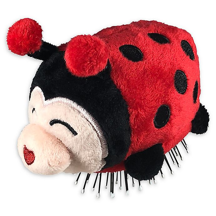 Alternate image 1 for Tangle Pets™ Lizzy the Ladybug Detangling Hair Brush