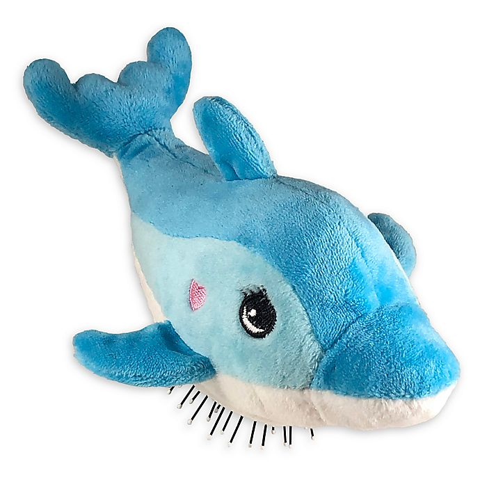 Alternate image 1 for Tangle Pets™ Dolphin Detangling Hair Brush