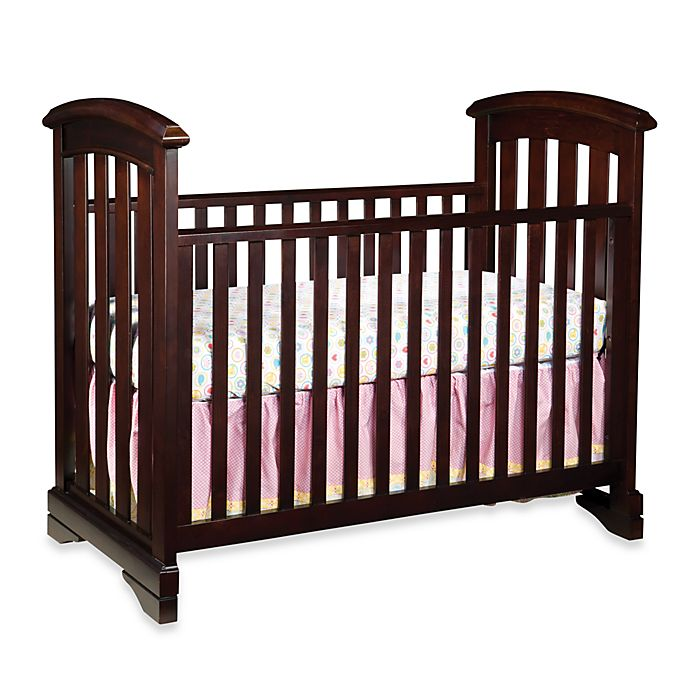 Westwood Design Waverly Cottage Crib In Chocolate Mist