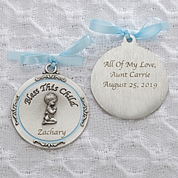 Baptism Blessings Crib Medallion