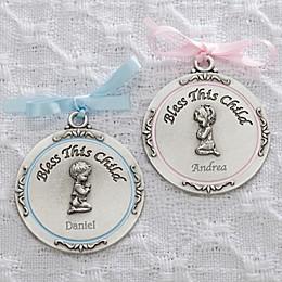 First Communion Boy Medallion