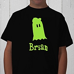 Glow-in-the-Dark Ghost Personalized Youth T-Shirt