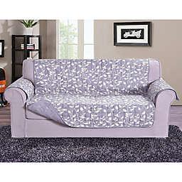 Leaf Sofa Protector in Lilac