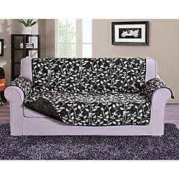 Leaf Oversized Sofa Protector in Black