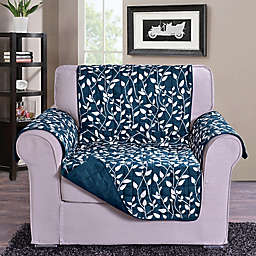 Leaf Chair Sofa Protector in Navy