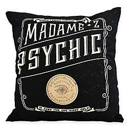 E by Design Witches Brew The Psychic Eye Square Throw Pillow in Cream