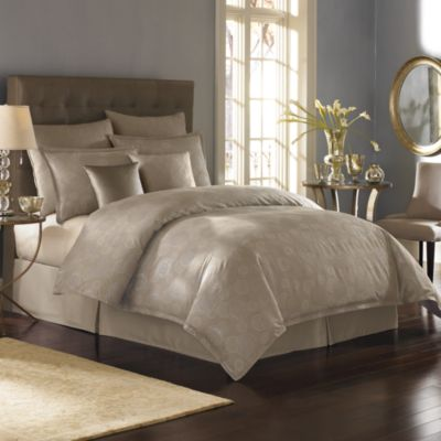 Nicole Miller 174 Metallic Circles Duvet Cover Bed Bath Amp Beyond