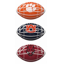 Collegiate Field Mini-Size Glossy Football Collection