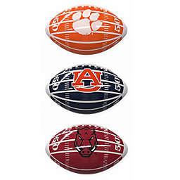 Collegiate Field Mini-Size Glossy Football Collection