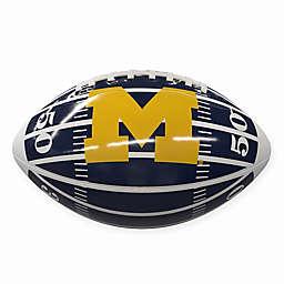 University of Michigan Field Mini-Size Glossy Football