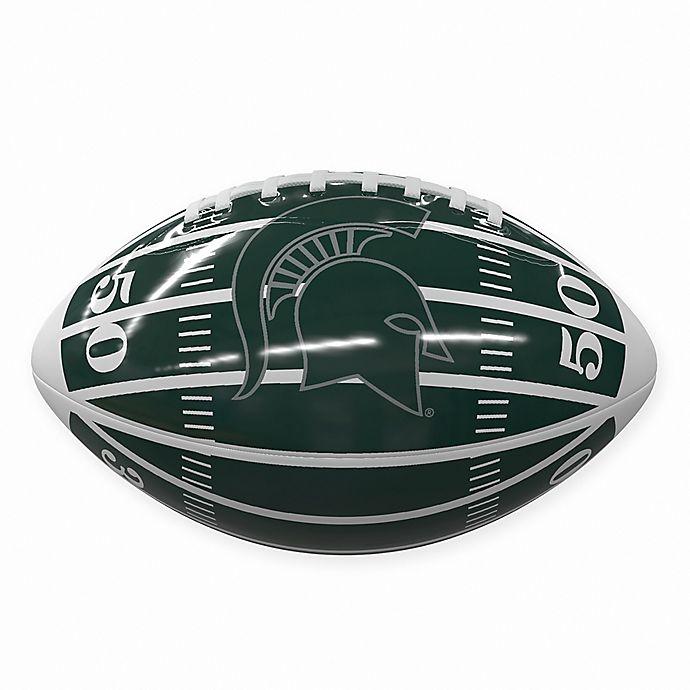 Alternate image 1 for Michigan State University Field Mini-Size Glossy Football
