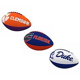 Collegiate Combo Logo Junior-Size Rubber Football Collection