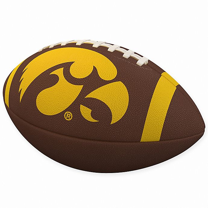 Alternate image 1 for University of Iowa Stripe Official Composite Football