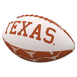 University of Texas Repeating Logo Mini-Size Rubber Football