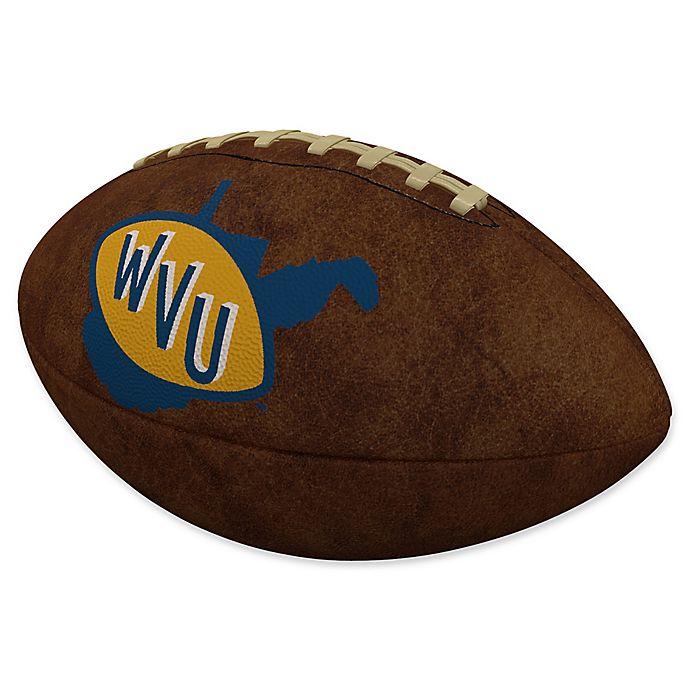 Alternate image 1 for West Virginia University Official-Size Vintage Football