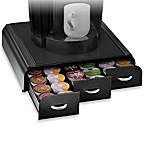 Mind Reader Anchor K-Cup® Single Serve Coffee Drawer in Black (Holds 36 K-Cups)