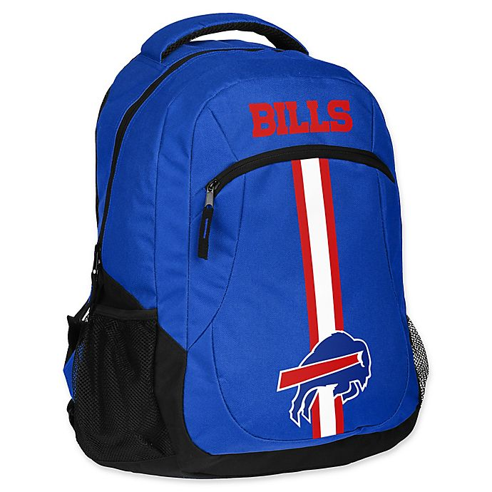 Alternate image 1 for NFL Buffalo Bills 18-Inch Action Stripe Backpack