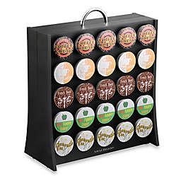 "Mind Reader ""The Wall"" Coffee Pod Storage Carousel (50 K-Cup® Capacity) in Black"
