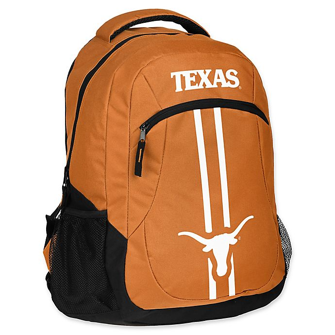 Alternate image 1 for University of Texas at Austin 18-Inch Action Stripe Backpack