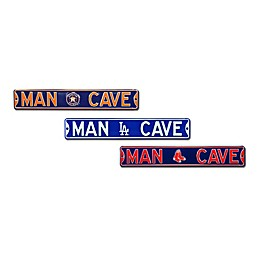 MLB Man Cave Street Sign Collection
