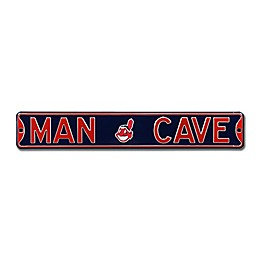 MLB Cleveland Indians Man Cave Street Sign