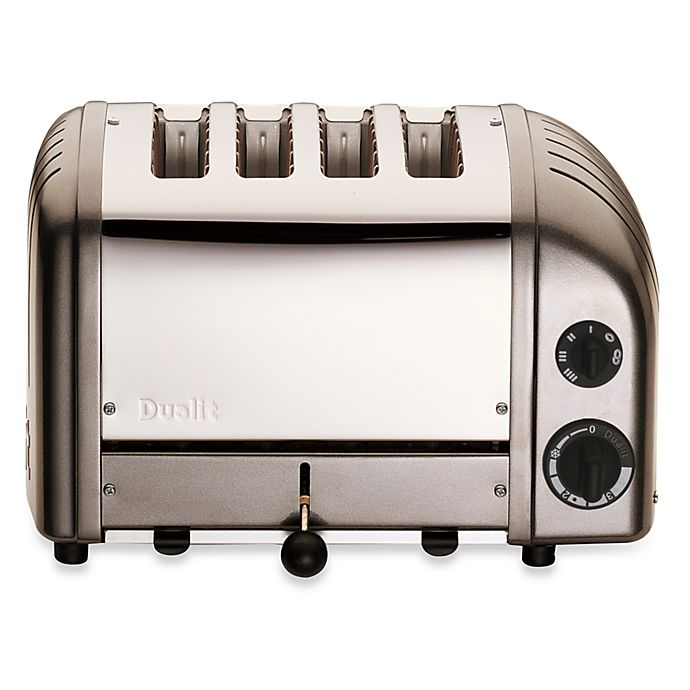 Alternate image 1 for Dualit® 4-Slice NewGen Classic Toaster in Charcoal