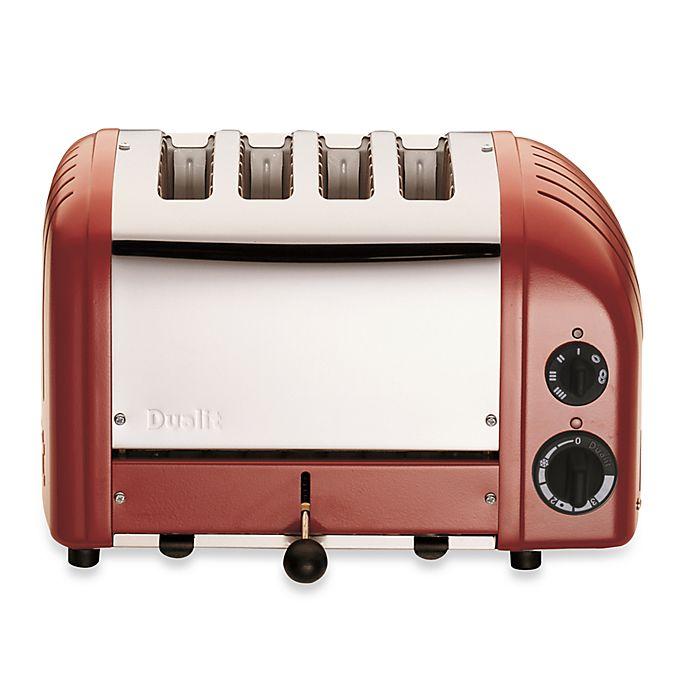 Alternate image 1 for Dualit® 4-Slice NewGen Classic Toaster in Red