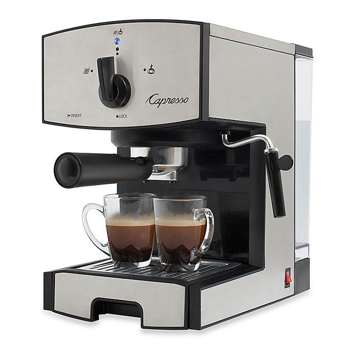 Alternate image 1 for Capresso® EC50 Stainless Steel Pump Espresso & Cappuccino Machine