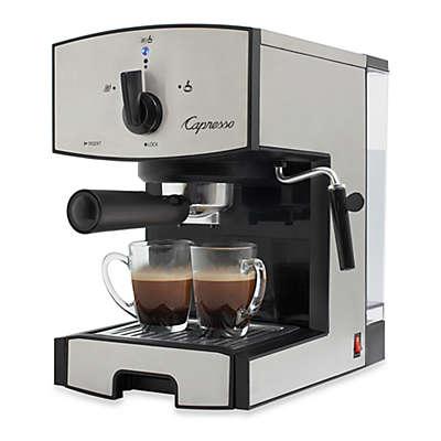 Capresso® EC50 Stainless Steel Pump Espresso & Cappuccino Machine
