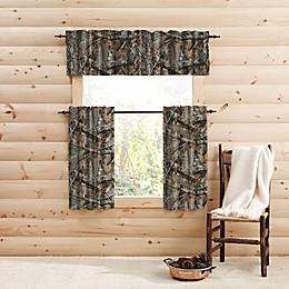 Realtree Edge™ Camo Window Curtain Panels and Valance