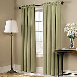 Blackstone Rod Pocket Room Darkening Window Curtain Panel