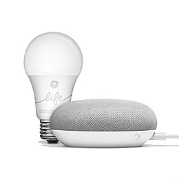 Google Home Mini with GE C-life Smart Bulb