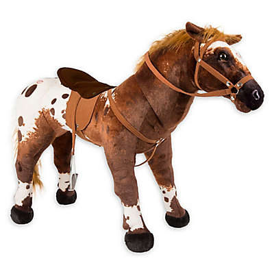 """Rockin' Rider """"Domino"""" Stable Horse in Brown"""