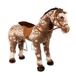 """Rockin' Rider """"Diesel"""" Stable Horse in Brown"""