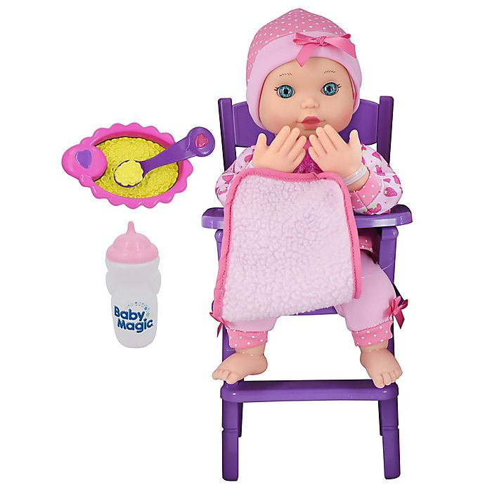 Alternate image 1 for Baby Magic Feed & Play Baby Doll