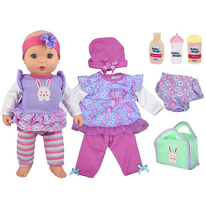 Alternate image 1 for Baby Magic Dress & Play Baby Doll Set