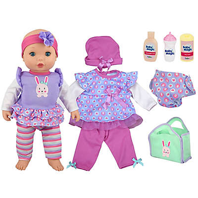 Baby Magic Dress & Play Baby Doll Set